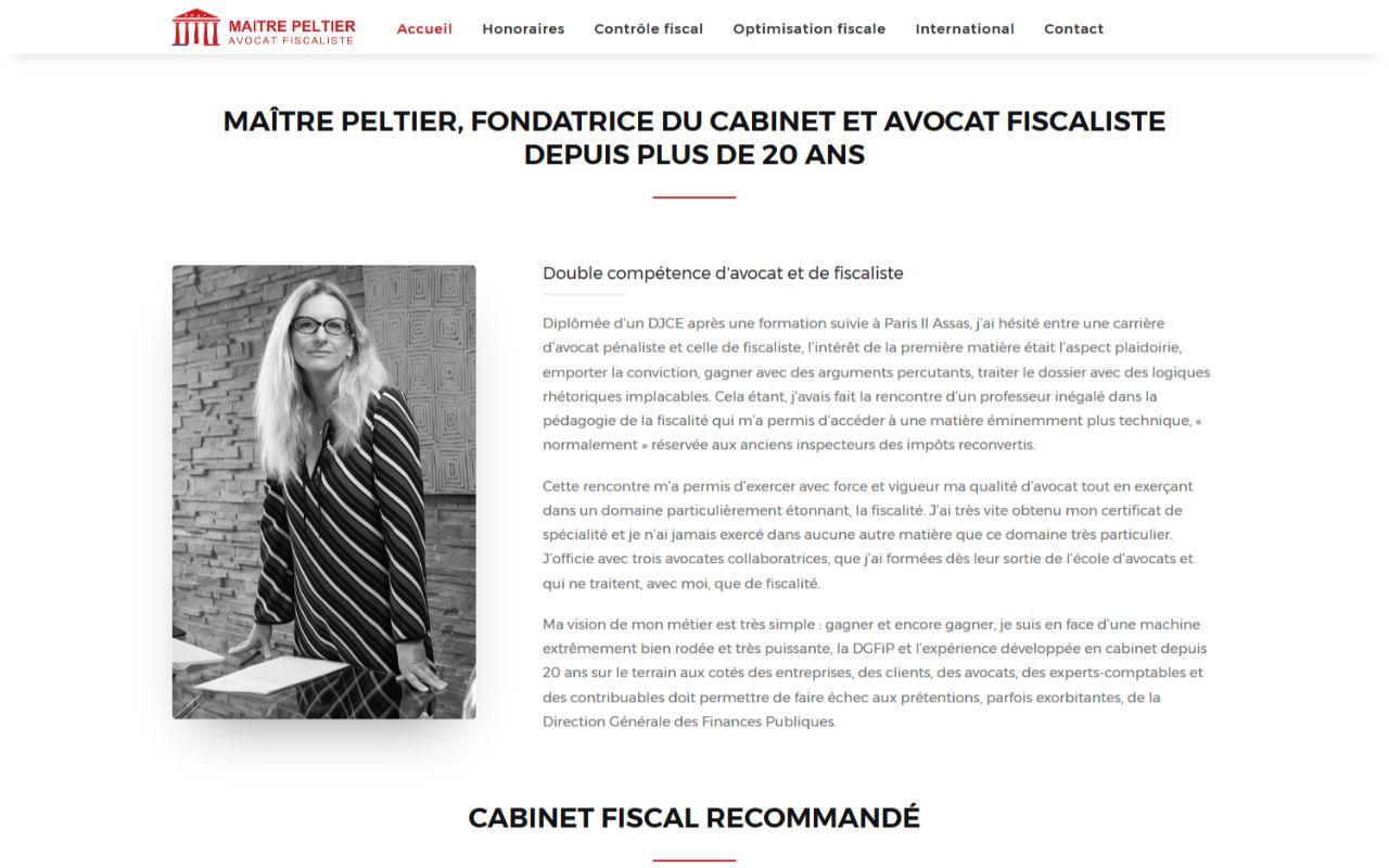 Création site internet wordpress pour avocat fiscaliste