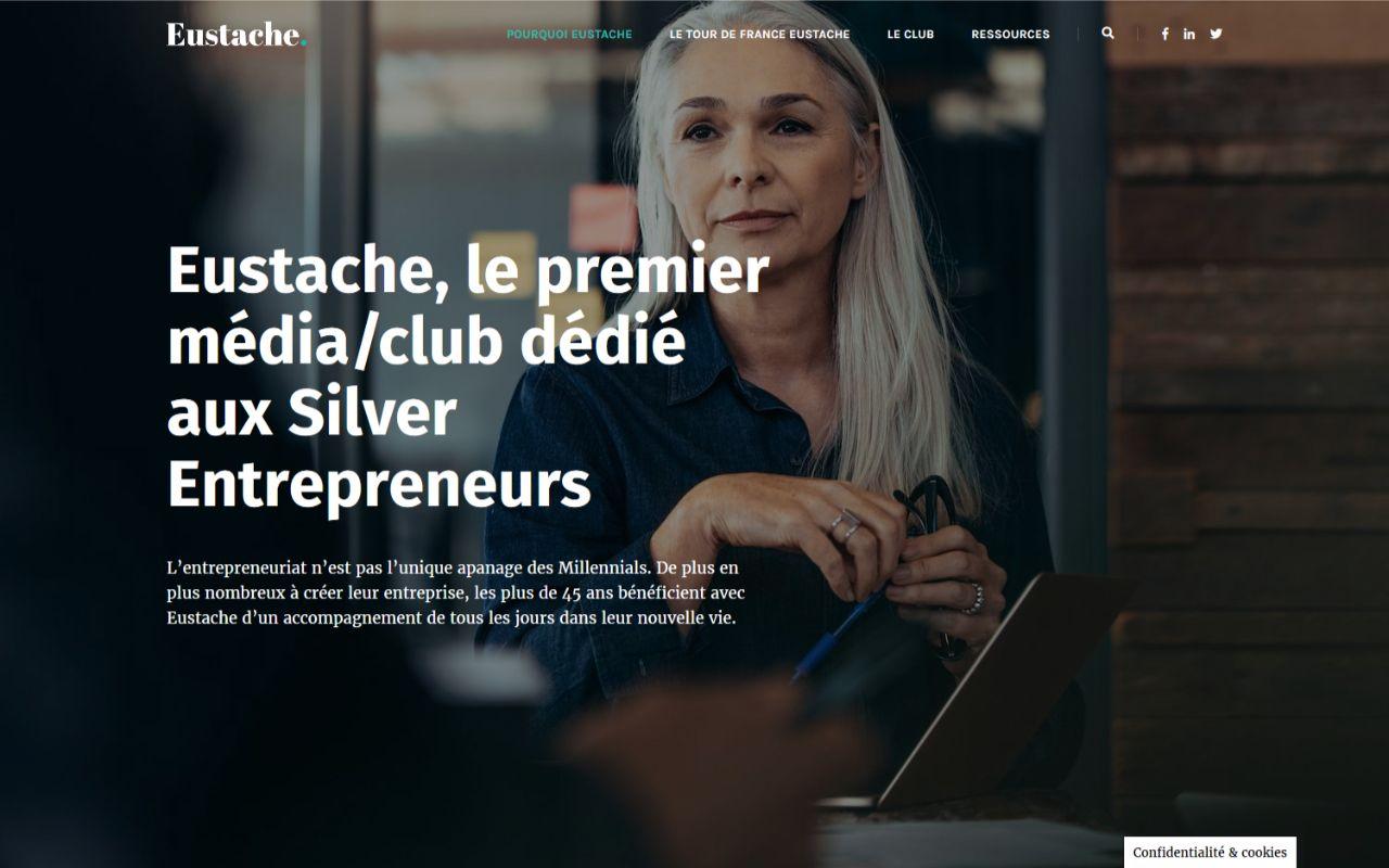 Création site Wordpress pour le club Eustache